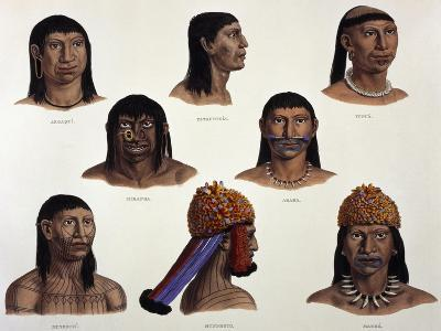 Indigenous People of Amazon, Brazil