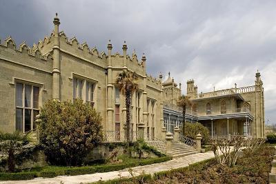 Ukraine, Crimea, Alupka, Surroundings of Yalta, Vorontsov's Palace