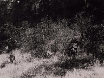 Black Shirts Platoon Carrying Out Raid in Valley of Gubat