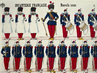 Franco-Prussian War, French Infantry