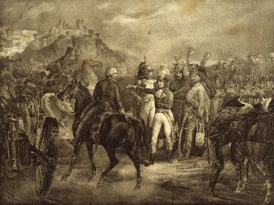 Napoleon Bonaparte Sending Commissioner Gaspard Monge to San Marino