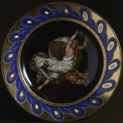 Plate with Mythological Scene, Ceramic, Viennese Manufacture, Austria