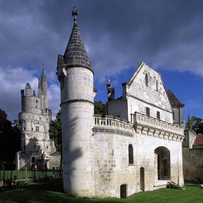 View of Chateau De Septmonts, Picardy, France, 14th-15th Century
