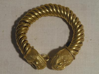 Greco-Roman Bracelet, Gold, from Tukh El-Garamus