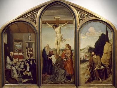 Altarpiece of Calvary, 16th Century, Flemish Painter