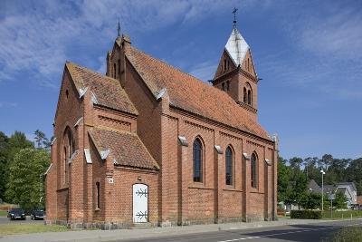 Lithuania, Klaipeda, Curonian Spit, Nida, Juodkrante, Church Exterior