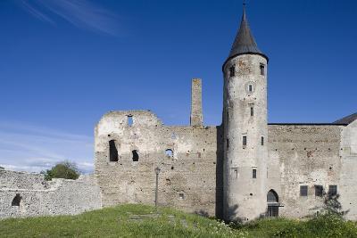Estonia, Laanemaa County, Haapsalu, Ruins of Haapsalu Episcopal Castle