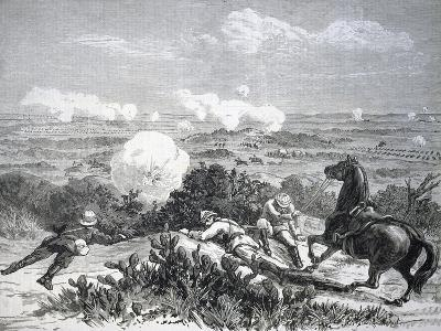 The Battle of Mahuta, 1882, One of First Clashes Between British and Mahdists, Colonial Wars, Sudan