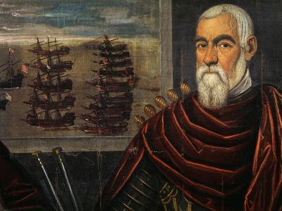 Portrait of Lorenzo Venier, Captain General of Sea of Venetian Republic