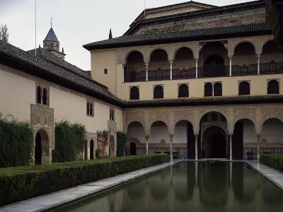 Court of Myrtles, Alhambra Granada, Spain
