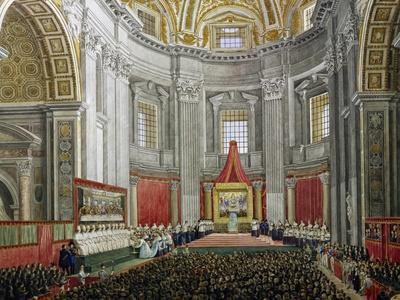 Solemn Celebration in Memory of Pope Pius IX, in St Peter's Basilica, Vatican City