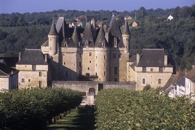 France, Aquitaine, Jumilhac-Le-Grand, Jumilhac Castle