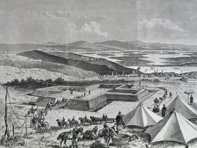 Fortifications in Ruse, Near Danube, 1877-1878, Russian-Turkish War, Bulgaria