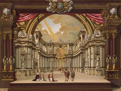 Set Design for Theatre of Versailles in 1685, France