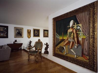 Second Hall, Giorgio De Chirico House Museum, Palazzetto Del Borgognoni, Rome, Italy