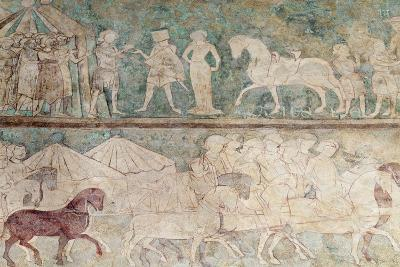 Spain, Aragon, Saragossa, Aljaferia Palace Detail