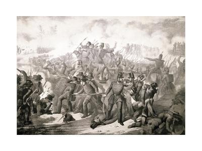 French Assault on the Barricades at Genoa, June 12, 1848