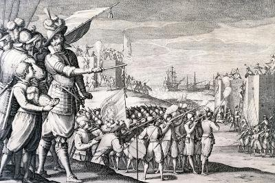 Capture of Bone by Ferdinand I De Medici's Troops During Colonial Wars by Callot