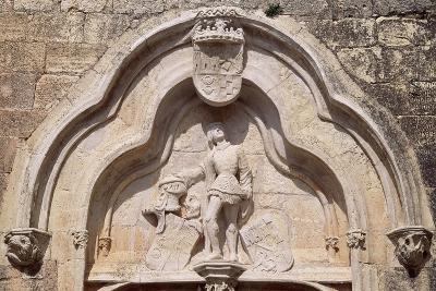Spain, Castile-La Mancha, Cerro De San Cristobal, Belmonte, Belmonte Castle