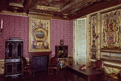 Madame De La Meilleraye's Bedroom, in Library of Arsenal, Paris, France