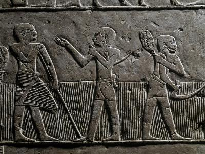 Grain Harvesting, Relief, from Giza