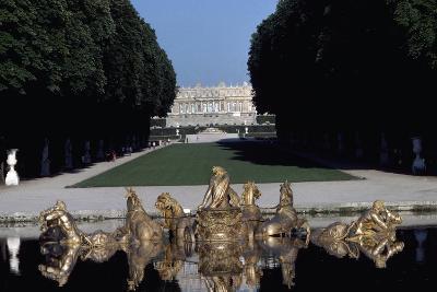 Apollo's Bath in Garden, Palace of Versailles , France