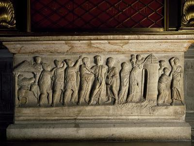 Gospel Scenes from the Sarcophagus of San Celso, Milan, Italy, Early Christian Period