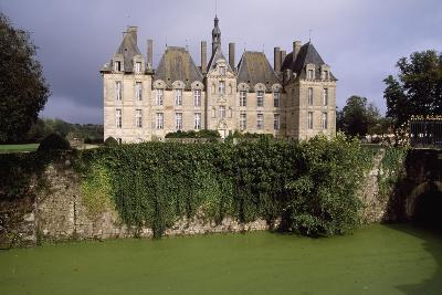 Chateau De Saint-Loup Sur Thouet, Poitou-Charentes, France