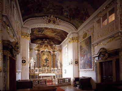 Interior of Aulica Chapel, Episcopal Palace, Bressanone, Trentino-Alto Adige, Italy