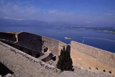 Palamidi Fortress Fortifications in Nafplio, Greece, Construction Begun 1714