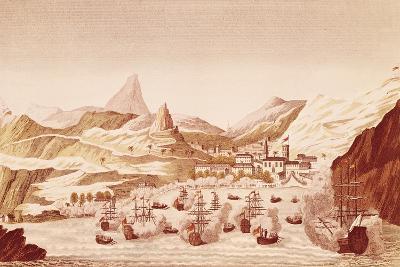 St Helena Island Port, October 17, 1815, Restoration, United Kingdom