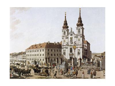 History of Austria, Vienna, Upper Market Near the Mariensaule, 1793