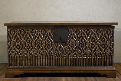 Walnut Chest, Made in Valle D'Aosta, Italy