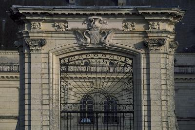 Entrance Gate of Castle of Serrant, Angers, Loire, France, 16th-17th Century