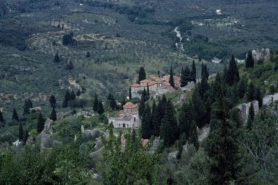 Monastery at Mystra, Now Sparta in Peloponnese, Archaeological Site of Mystras , Greece