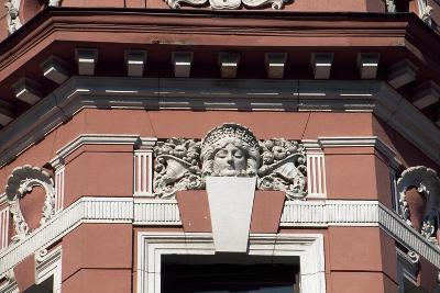 Architectural Detail from Casa Muresenilor, Brasov, Romania