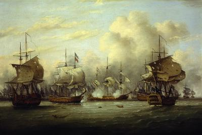 Fourth Anglo-Dutch War, Battle of Dogger Bank, August 5, 1781, American Revolutionary War