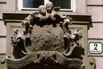 Sculptural Decoration of Building in Vienna, Austria