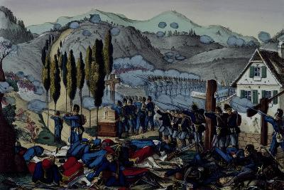 Battle of Reichshoffen or Woerth, August 6, 1870, Franco-Prussian War, France