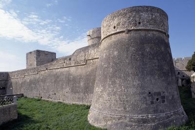 Norman Castle of Monte Sant'Angelo, Bari, Apulia, Italy, 12th Century