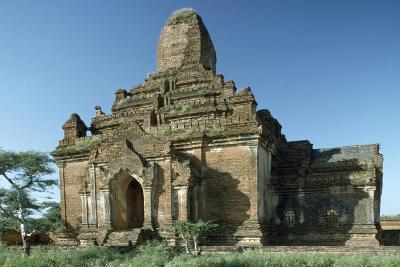 Myanmar, Bagan, Seinnyet Ama Temple, 11th-12th Century