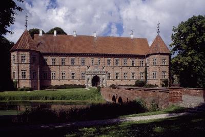 Voergaard Castle, Dronninglund, Jutland, Denmark, 16th Century