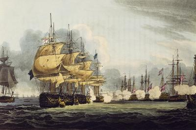 Destruction of the Danish Fleet During the Battle of Copenhagen, April 2, 1801