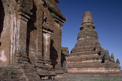 Myanmar, Bagan, Seinnyet Nyima Pagoda, 11th-12th Century