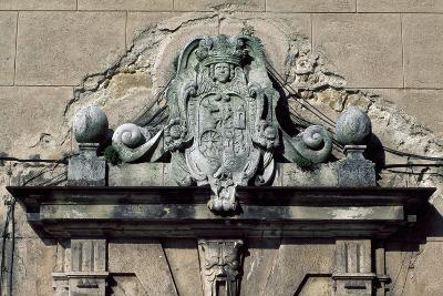 Relief Decoration, Architectural Detail from Bojnice Castle, Trencin, Slovakia