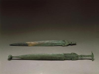 Bronze Daggers, from Torre Galli, Province of Vibo Valentia