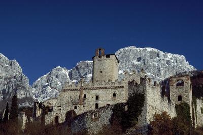 Castelbarco Castle of Sabbionara, Avio, Trento, Trentino-Alto Adige, Italy, 11th Century