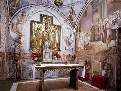 Chapel of Virgin, 13th Century Monastery of Santa Maria De La Rabida, Palos De La Frontera, Spain