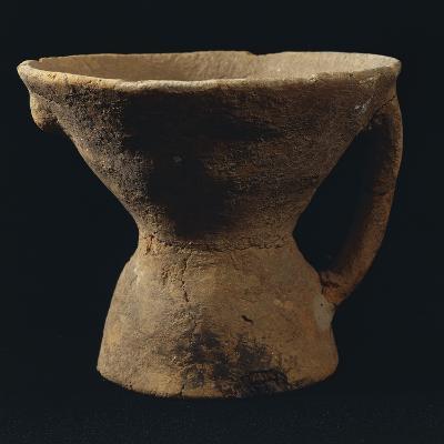 Italy, Bronze Age, Castelluccio Culture, Vase from the Necropolis of Narro