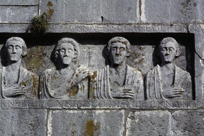 Bas-Relief, Complex of the Holy Trinity, Venosa, Basilicata, Italy